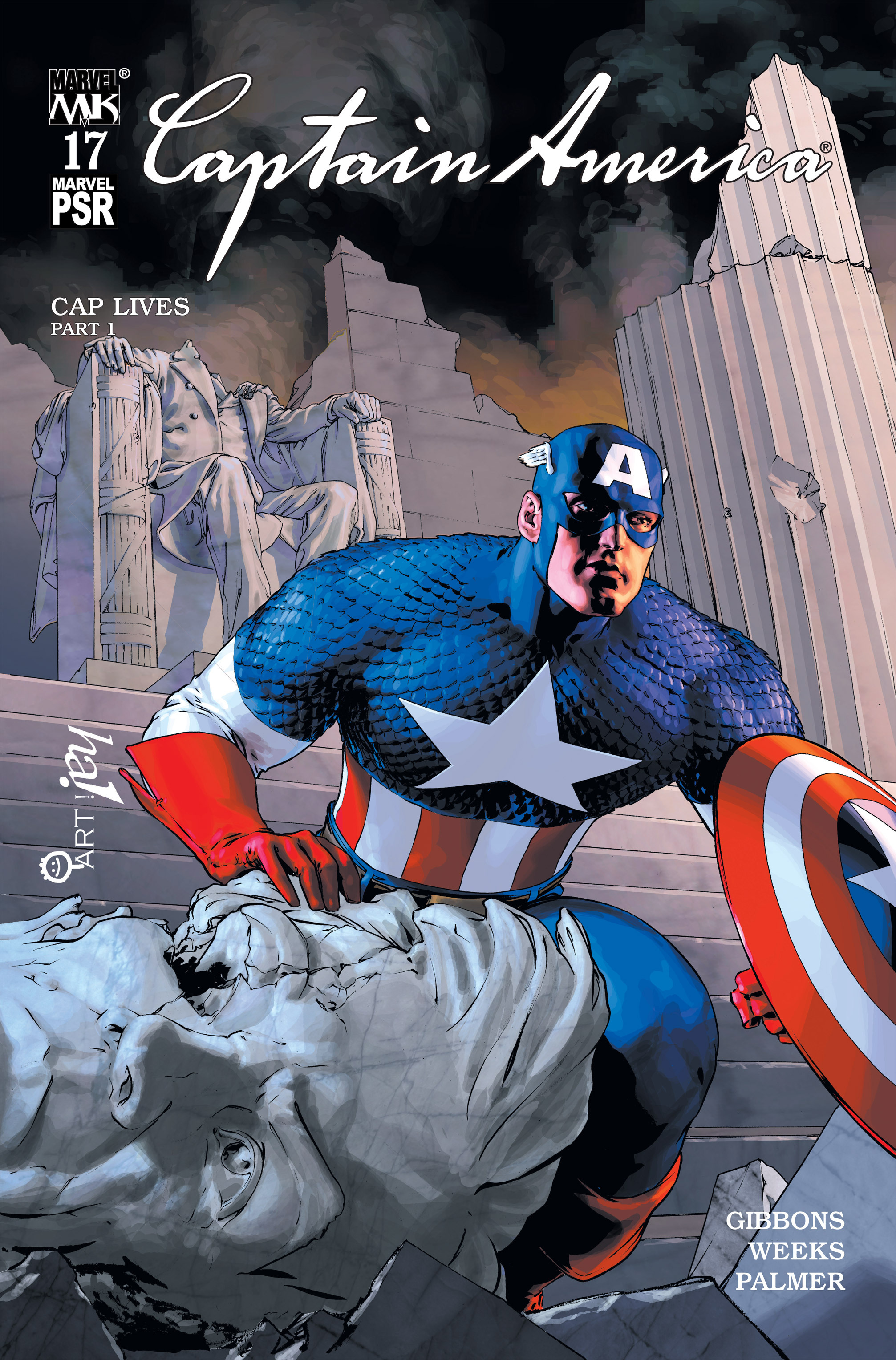Captain America (2002) Issue #17 #18 - English 1