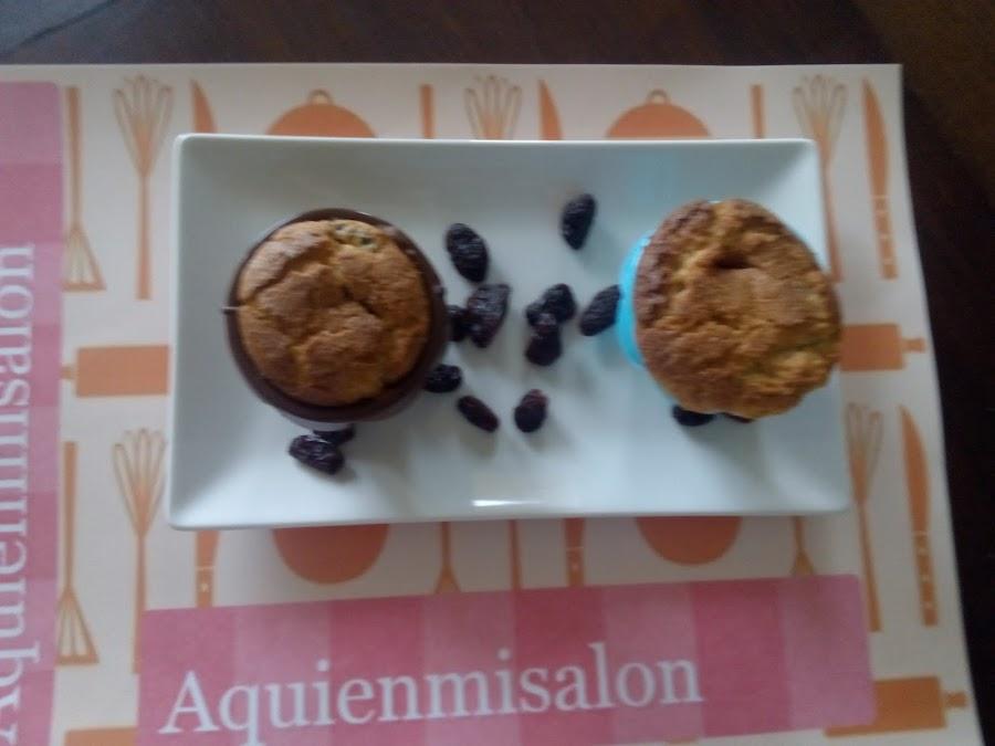 Magdalenas de uvas