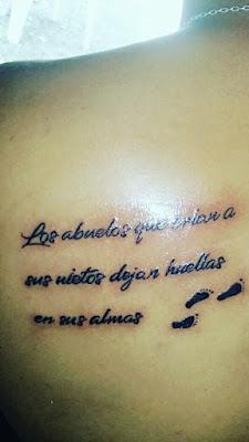 Tatuajes Para Los Abuelos Homenajes Frases