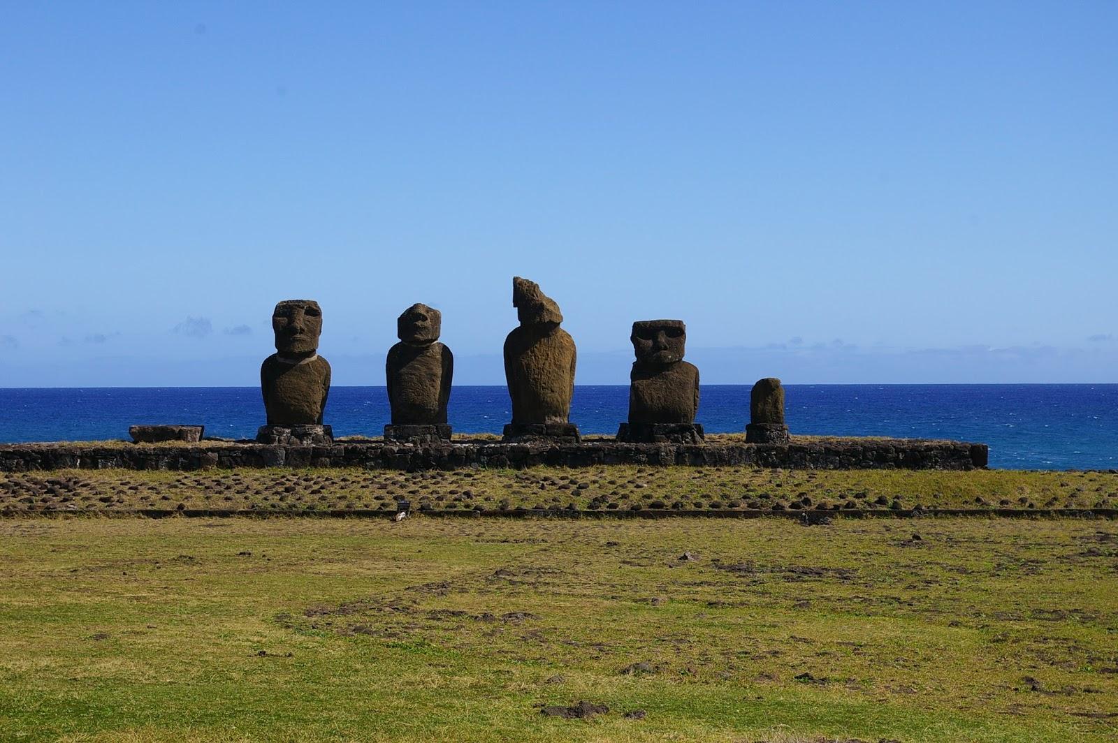 Chila Wyspa Wielkanocna moai