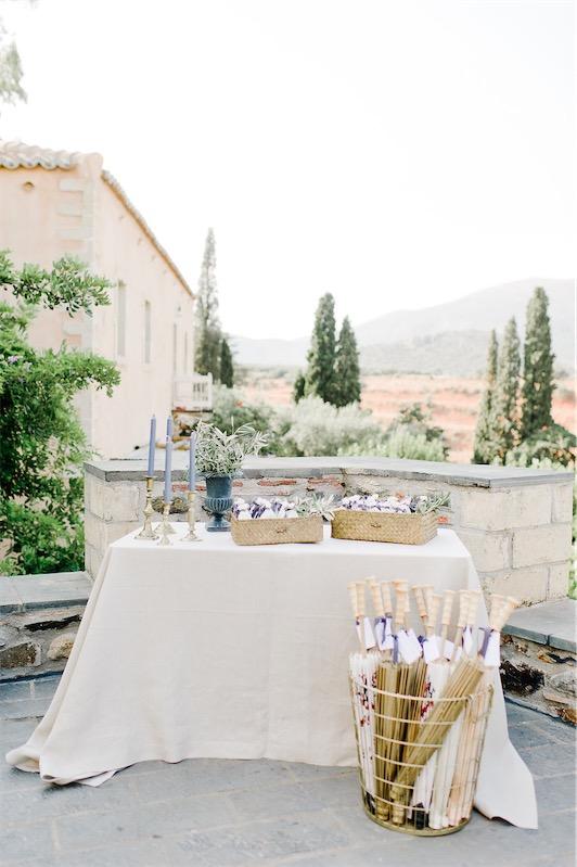 Una boda griega en LOVE, LOVE by Chic & Decó