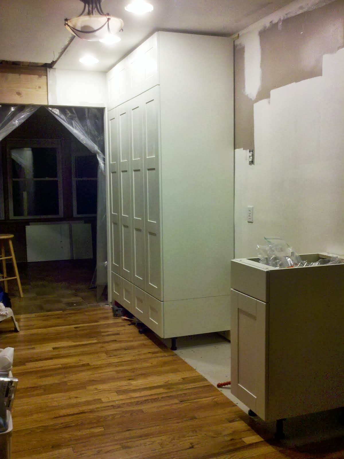 Kitchen Floor To Ceiling Cabinets