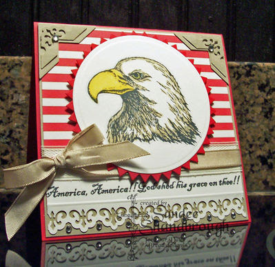 Our Daily Bread Designs, In God We Trust, Eagle head single