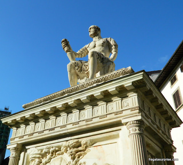Florença, monumento a Giuseppe della Banda Nera
