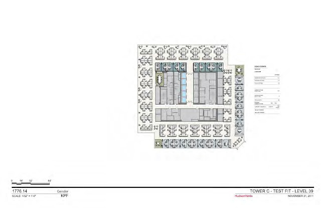Floorplan of new office tower two