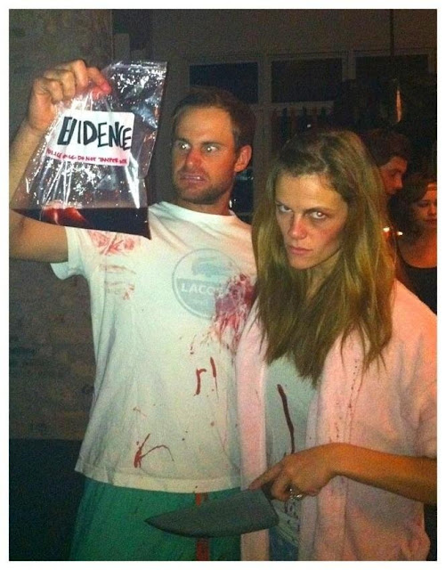tennis player Andy Roddick with Brooklyn Decker Halloween Costumes Ideas For Couple