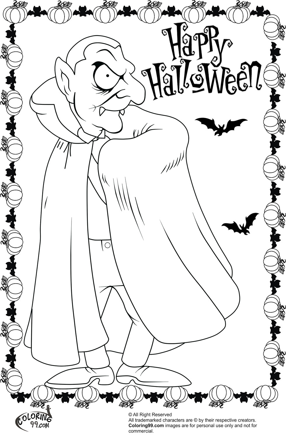 Halloween Scary Coloring Pages Scary Halloween Coloring Pages