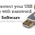 How to protect your USB Pendrive with password without any software.