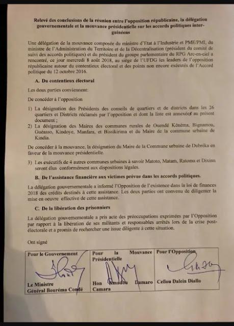 Guinée: contentieux électoral des élections communales du 04 février 2018, l'opposition républicaine vers un gain de cause2