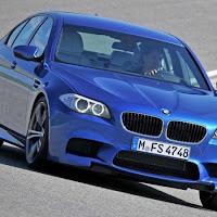 BMW M5 F10 test drive