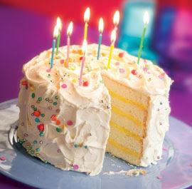 Birthday Cake Recipe Birthday