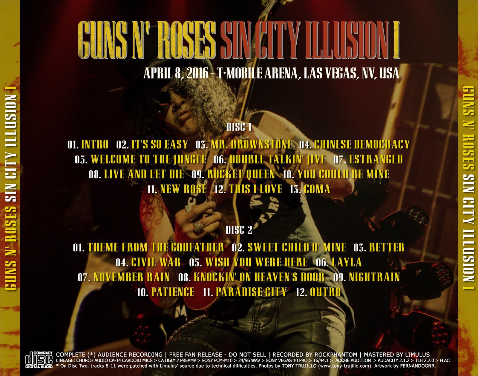 guns n roses full discography download