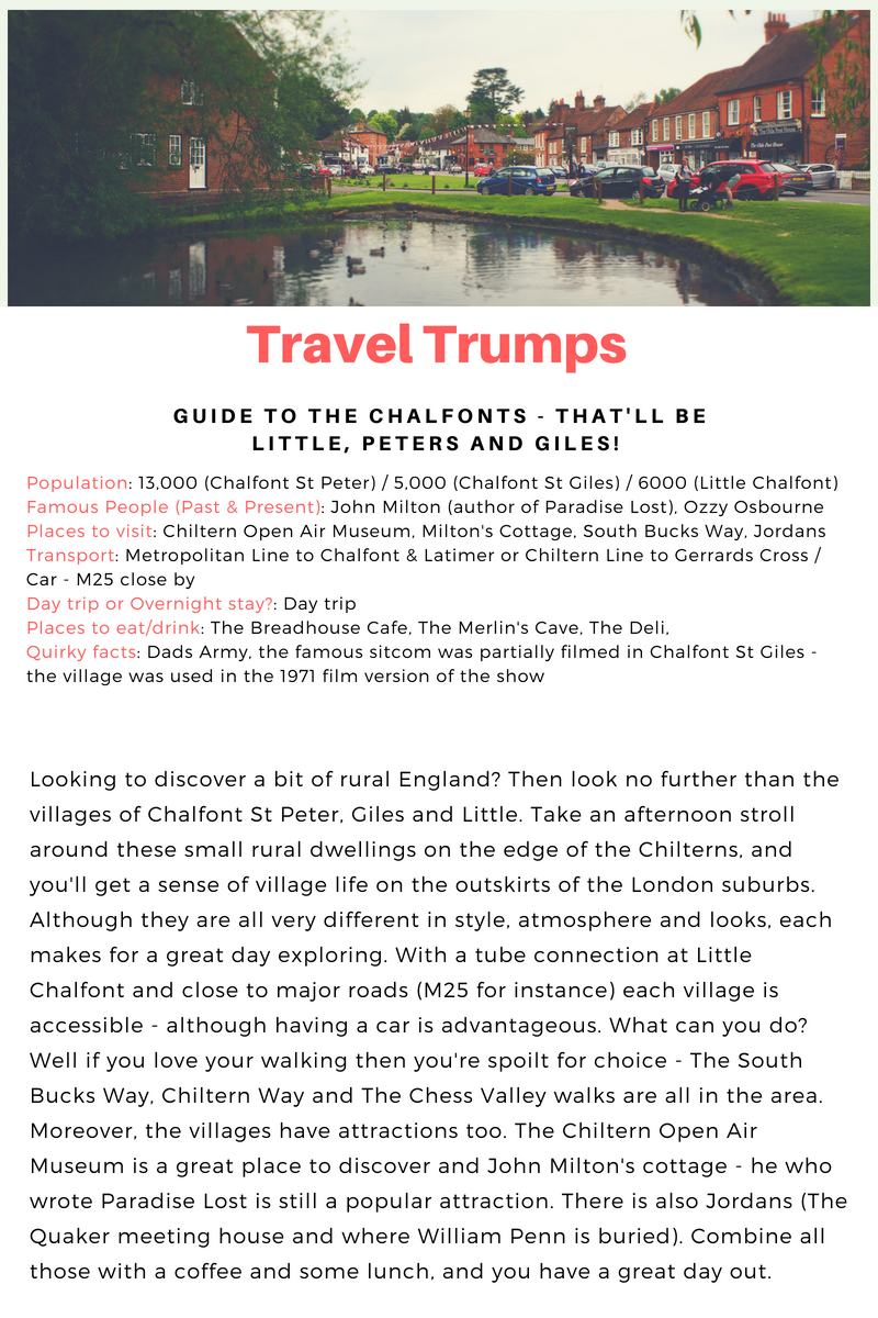 Travel Trumps