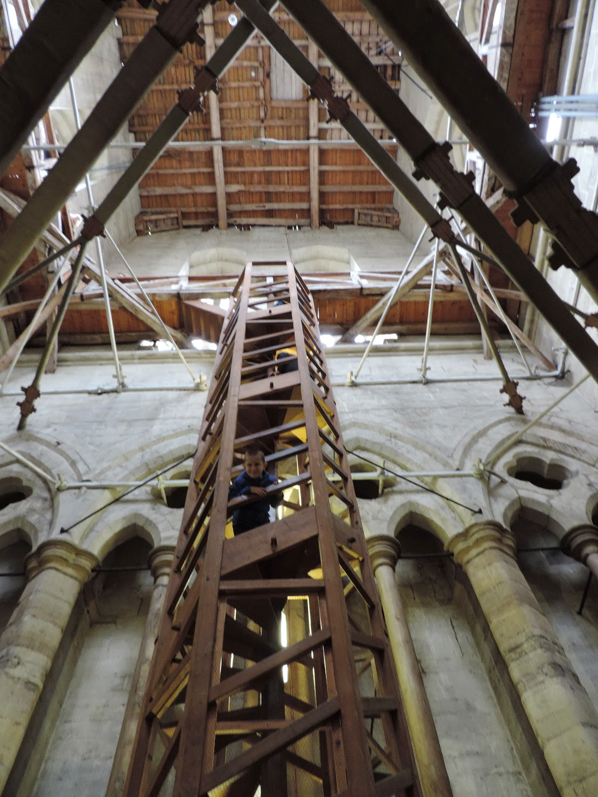 salisbury cathedral tower tour spire access point