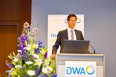 Chistian Pohl auf der DWA-Landesverbandstagung Nord-Ost