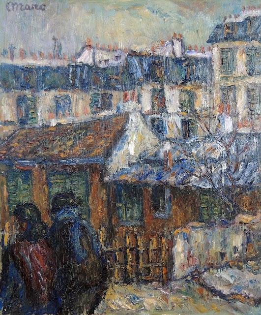Marc Camps Gandillo pintura impresionista paisaje urbano