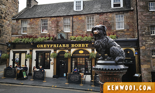 ediburgh greyfrairs bobby