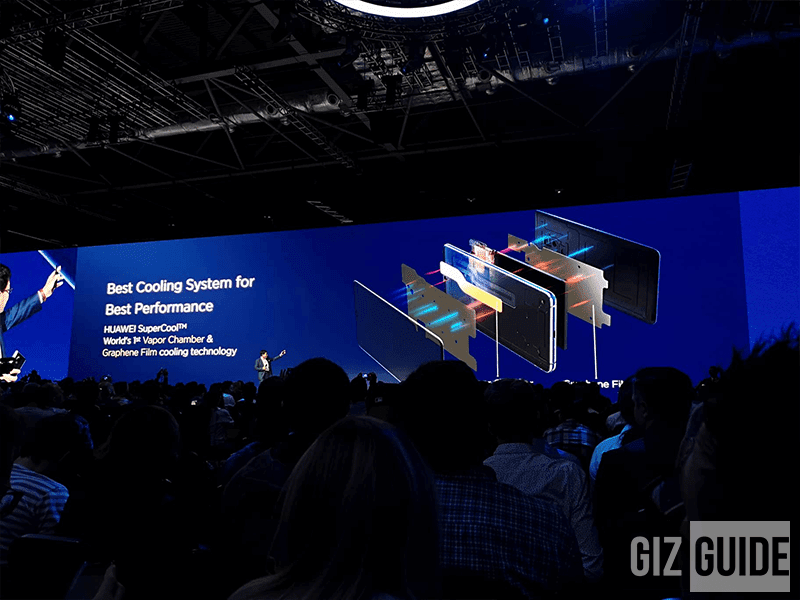 The Mate 20X is the world's first phone with Vapor Chamber and Graphene Film cooling technology!