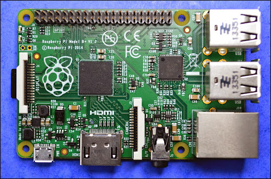 "Say ""Hello"" to the Raspberry Pi model B+"