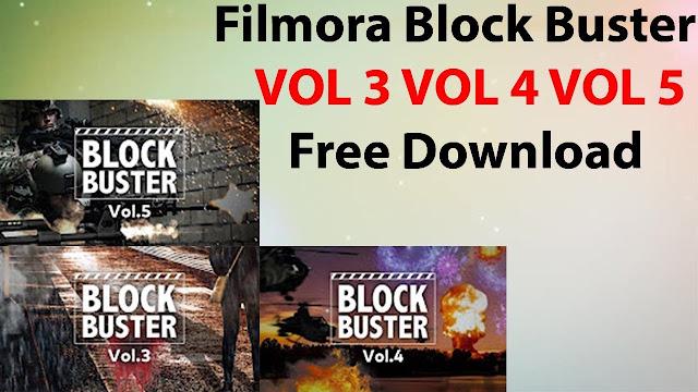 BlockBuster Effect for Filmora 9