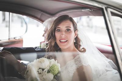 arrivo chiesa sposa auto