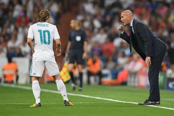 Modric and Zidane