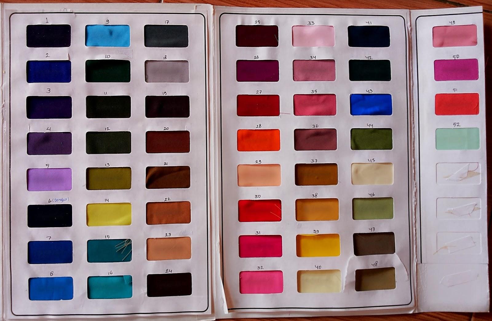 Katalog Warna Gamis Pria