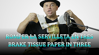 Romper la servilleta en tres partes, PROPOSITION BET, Brake tissue paper in three parts