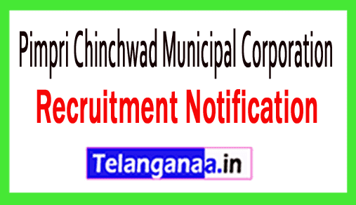 Pimpri Chinchwad Municipal Corporation PCMC Recruitment Notification