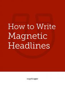 Magnetic headlines.