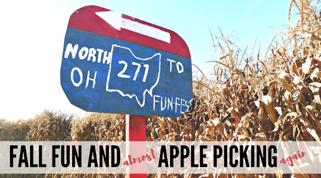 Fall Fun Fest and Almost Apple Picking Again at Patterson's Farm