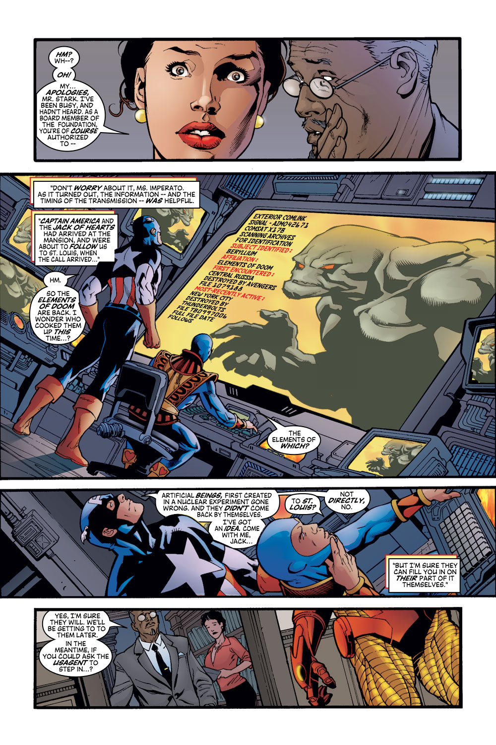 Read online Avengers (1998) comic -  Issue #56 - 9