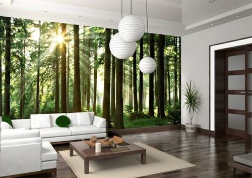 metsä tapetti taustakuva elävä metsä puunrungot valokuvatapetti metsä tapetti nature