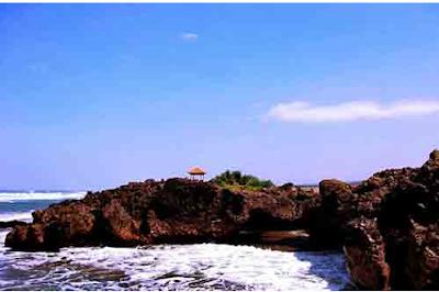 Objek Wisata Pantai Karang Paranje Garut terbaru 2017