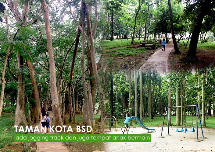 Tempat Jogging Di Taman Kota BSD