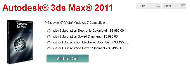 autodesk 3ds max 完整 盒 裝 版
