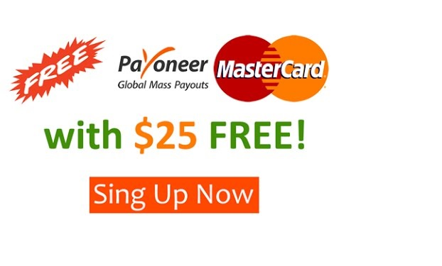 "Earn $25 From Payoneer Refer A Friend"" Bonus"
