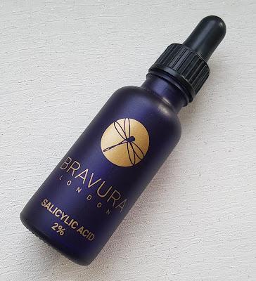 Bravura, Salicylic acid, Skincare, skin secrets, skin, spots, acne