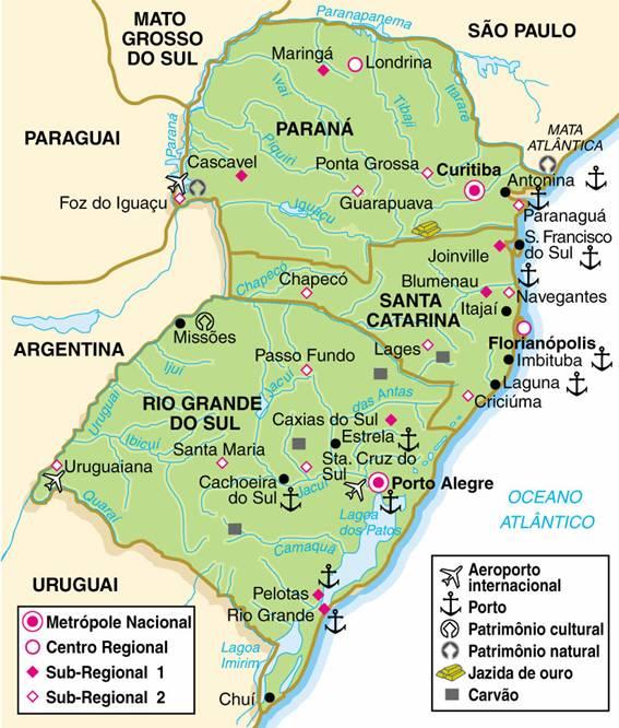 Região Sul do Brasil