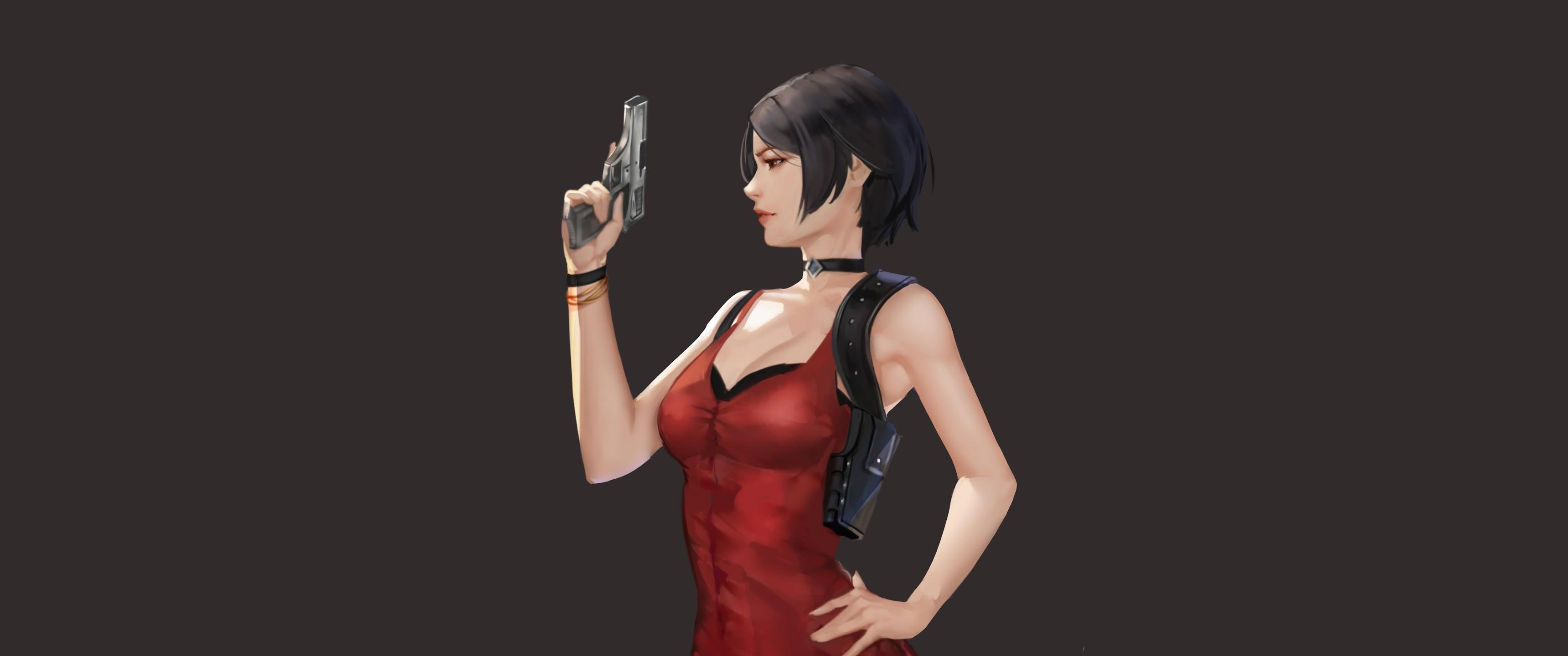 Ada Wong Resident Evil 2 Girl 4K Wallpaper #18