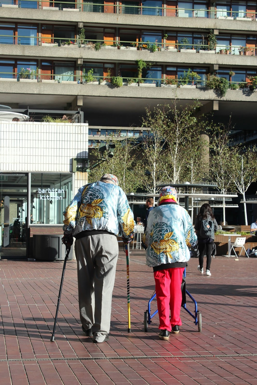 Matching Couple in Barbican