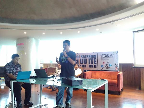 Diskusi Revisi UU ITE bagi Blogger