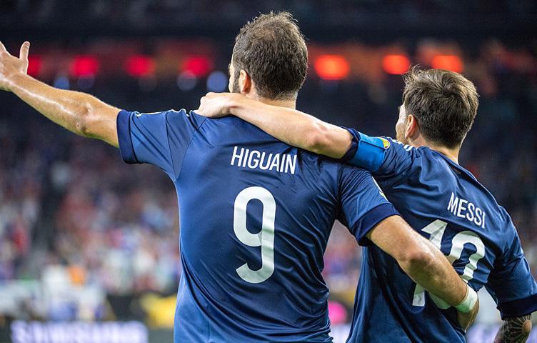 """Messi: """"Higuain je jedan od najboljih napadača na svijetu"""""""