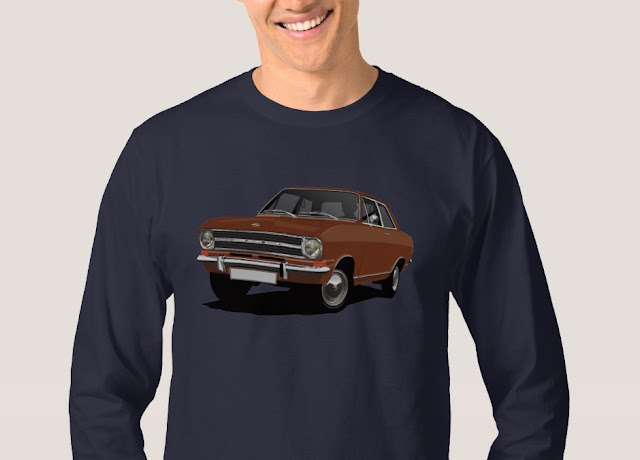 60's Opel Kadett B Sedan shirt