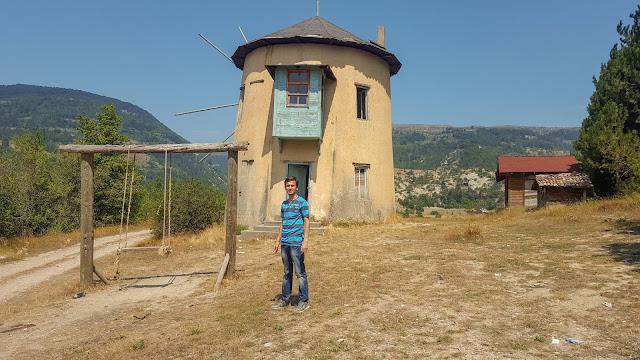 Harun İstenci Bolu Göynük'te, Yel Değirmenleri Çubuk Gölü