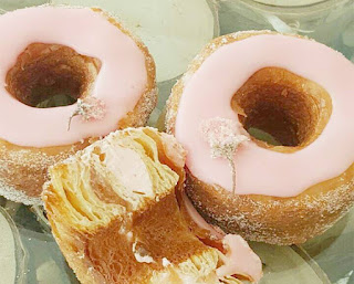 During the Month Dominique Ansel Bakery in Tokyo sells Cronut Sakura