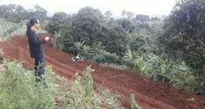 Warga Desa Pagerwangi Lembang Protes Pembangunan Jalan di Kawasan Resapan Air
