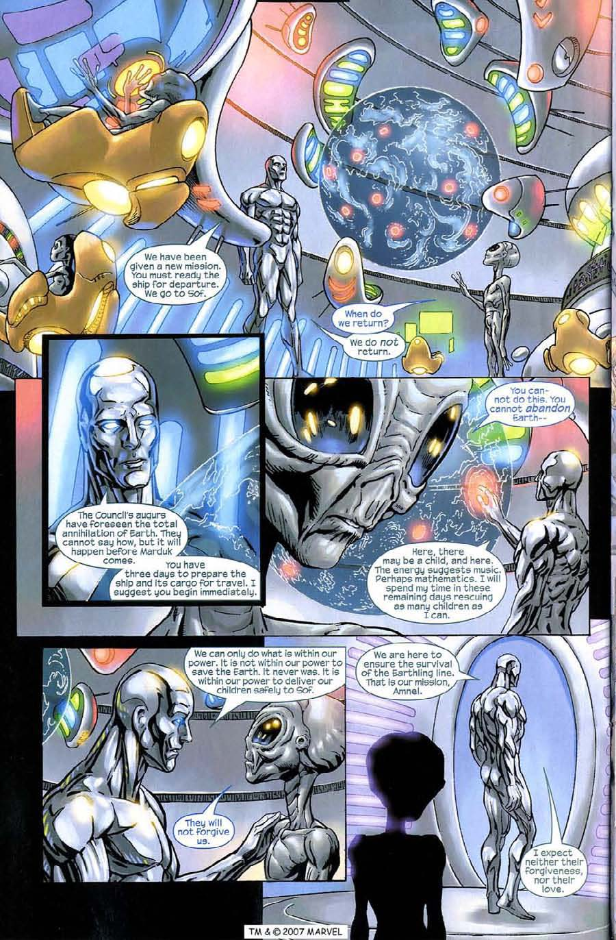 Read online Silver Surfer (2003) comic -  Issue #9 - 20