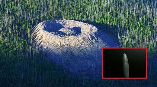 ¿Un volcán, un meteorito, o un OVNI? ¿Qué creó el misterioso cráter Patomskiy?