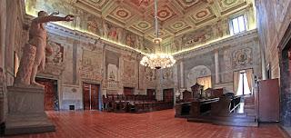 Palazzo Spada e le sale private del Consiglio di Stato